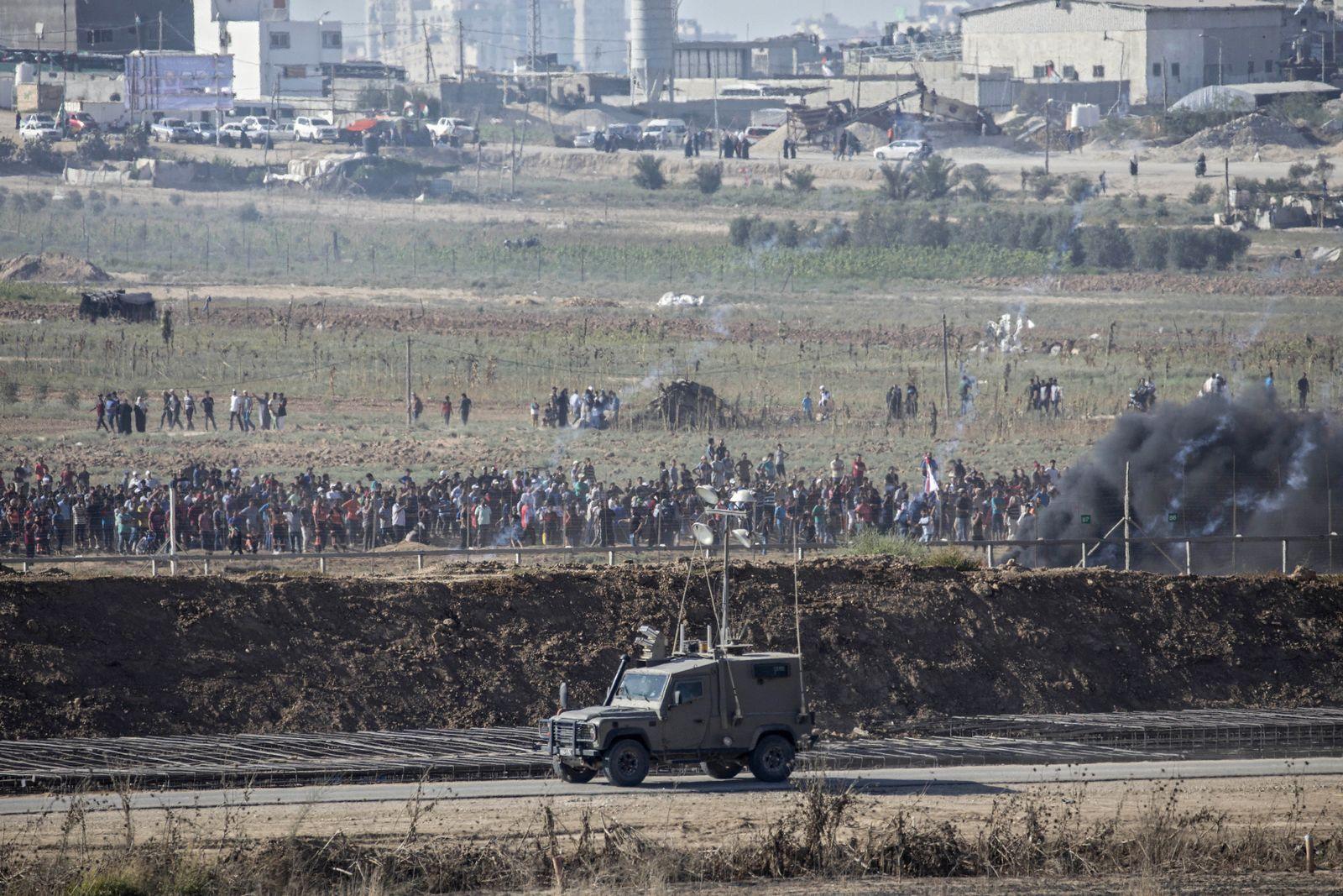 Gaza/ Israel/ Grenze/ Hamas
