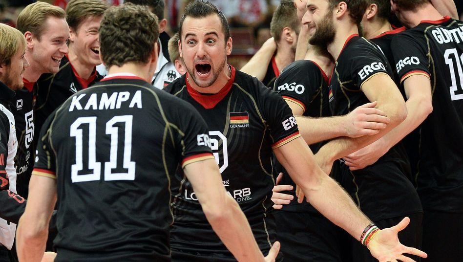Deutschlands Volleyballer: Erste Medaille seit 44 Jahren