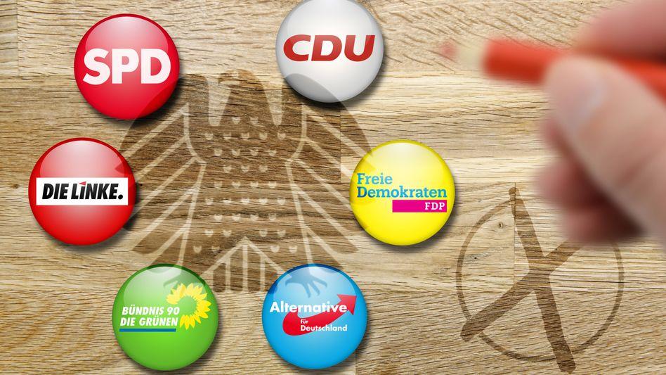 Parteienlogos (ohne CSU)