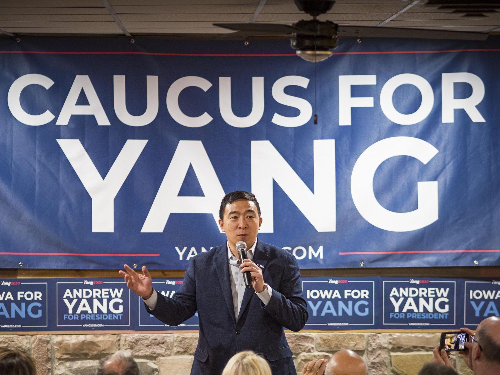 Wahlkampf in den USA - Andrew Yang