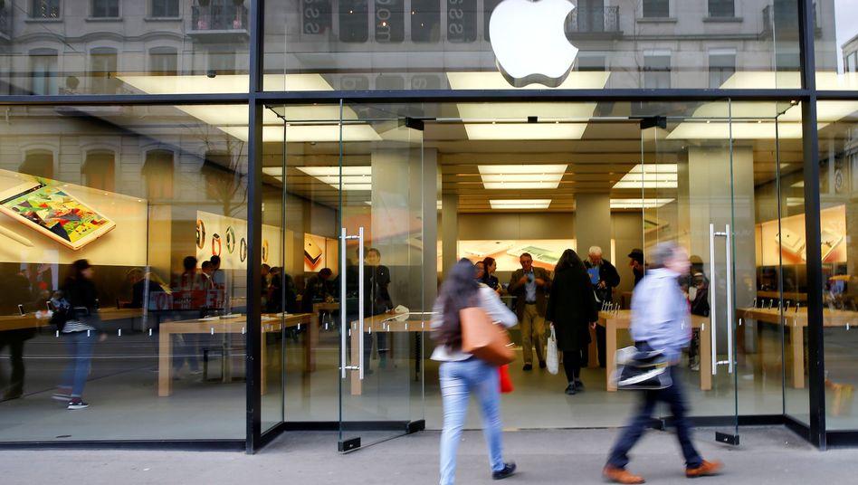Apple Store in Zürich (Archivbild)