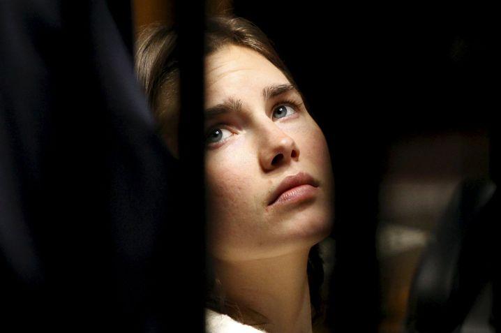 Knox im Gerichtssaal, ein Archivfoto von 2011