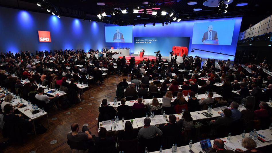 SPD-Sonderparteitag in Bonn
