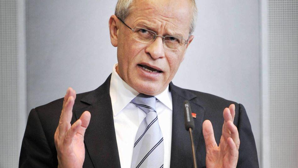 Berthold Huber, Vorsitzender der IG Metall: Frauenquote eingeführt