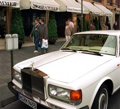 Moshammer-Rolls-Royce: Drei Luxus-Karossen werden zu Gunsten der Obdachlosen-Hilfe versteigert.