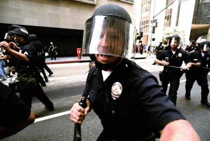 Polizist in Los Angeles: Ramponierter Ruf, schlechtes Image