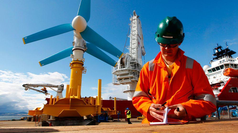 Gezeitenkraftwerke: Strom aus dem Meer