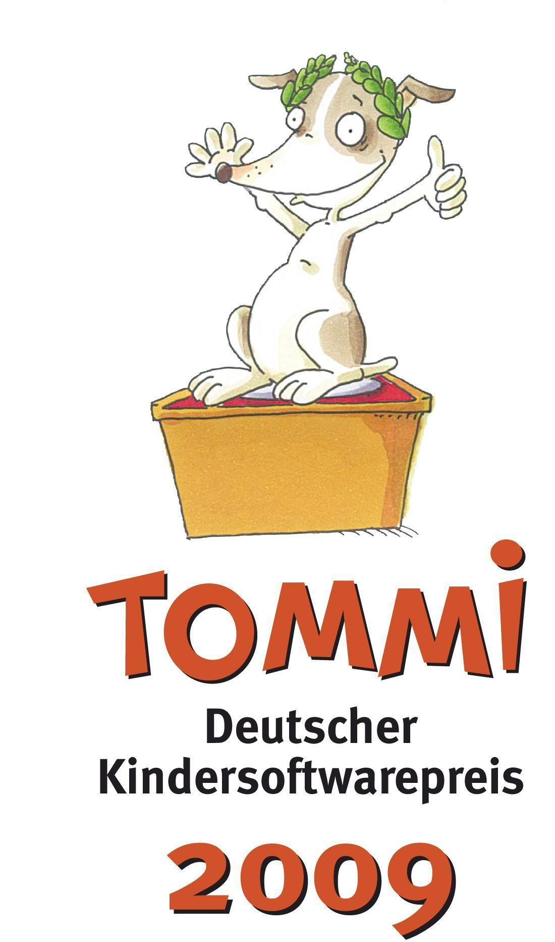 Tommi / Logo / Deutscher Kindersoftwarepreis
