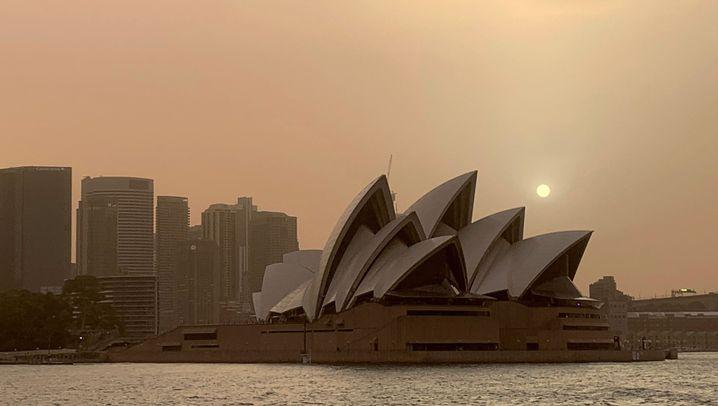 Buschbrände in Australien: Rauch über Sydney