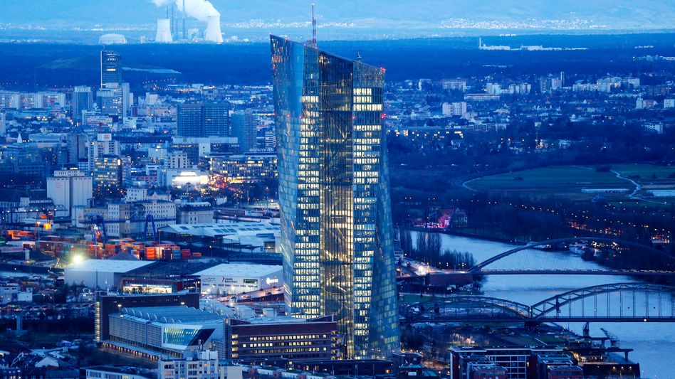 EZB-Hauptquartier in Frankfurt: Fragwürdige Papiere in Bankenbilanzen