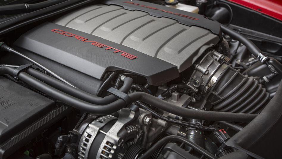 Neues Auto, alte Technik: Achtzylinder in der Corvette Stingray