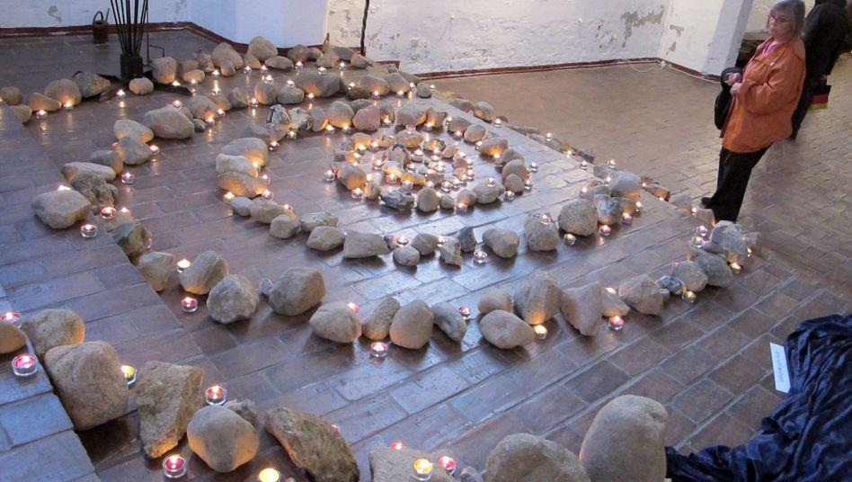 Hamburger Kirche: Lichtspirale zum Gedenken an Suizidopfer