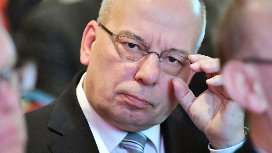 Polizeigewerkschafter Rainer Wendt: Stramm konservativer Kurs