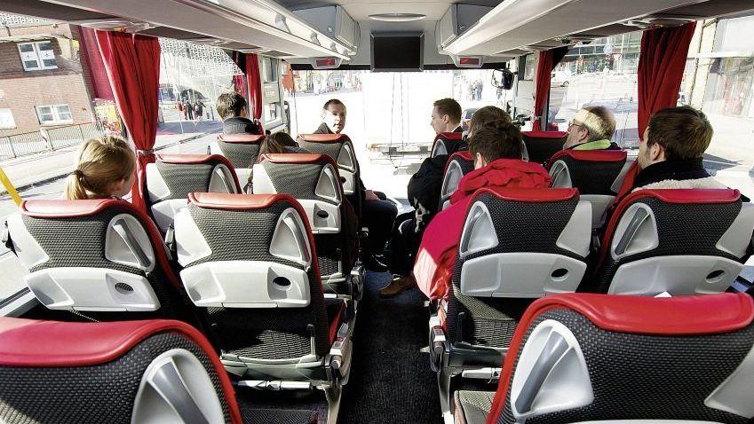 Flixbus-Innenraum