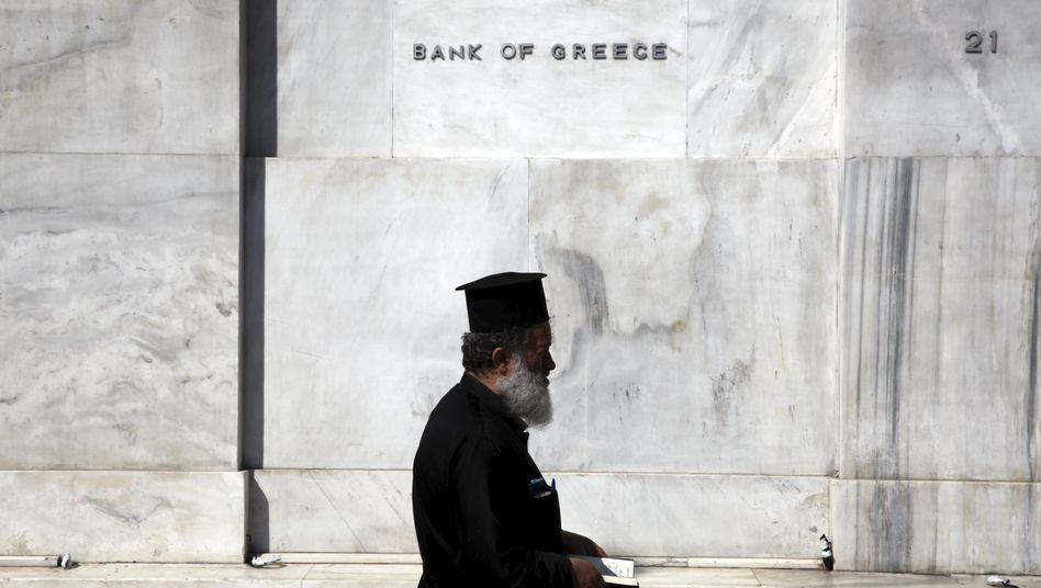 Griechische Zentralbank: Geld von Kreditgebern an Kreditgeber weitergereicht