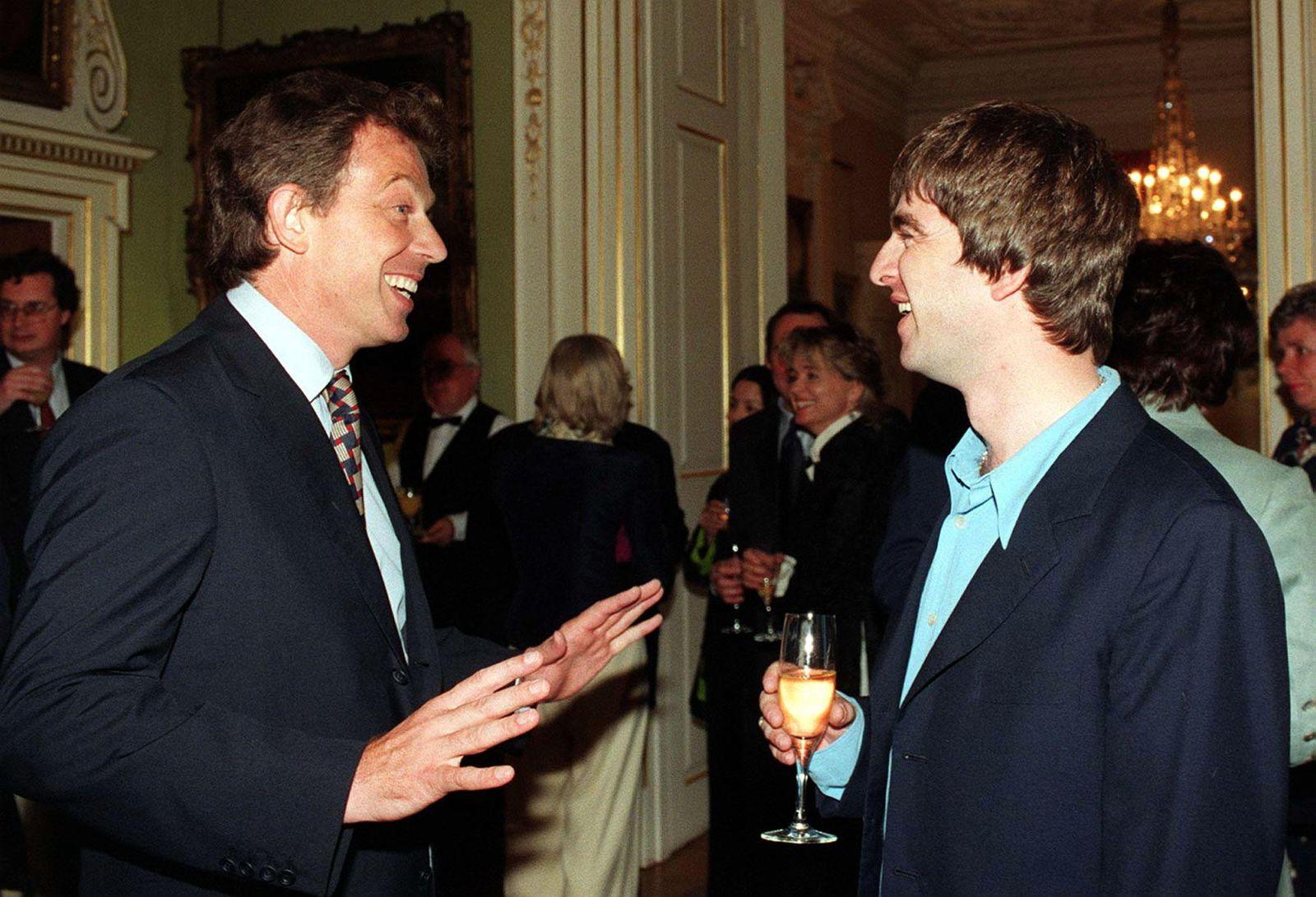 Blair / Noel Gallagher