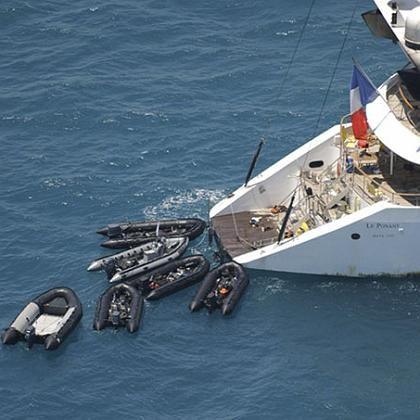 Enterung: Piraten greifen meist mit mehreren Booten an