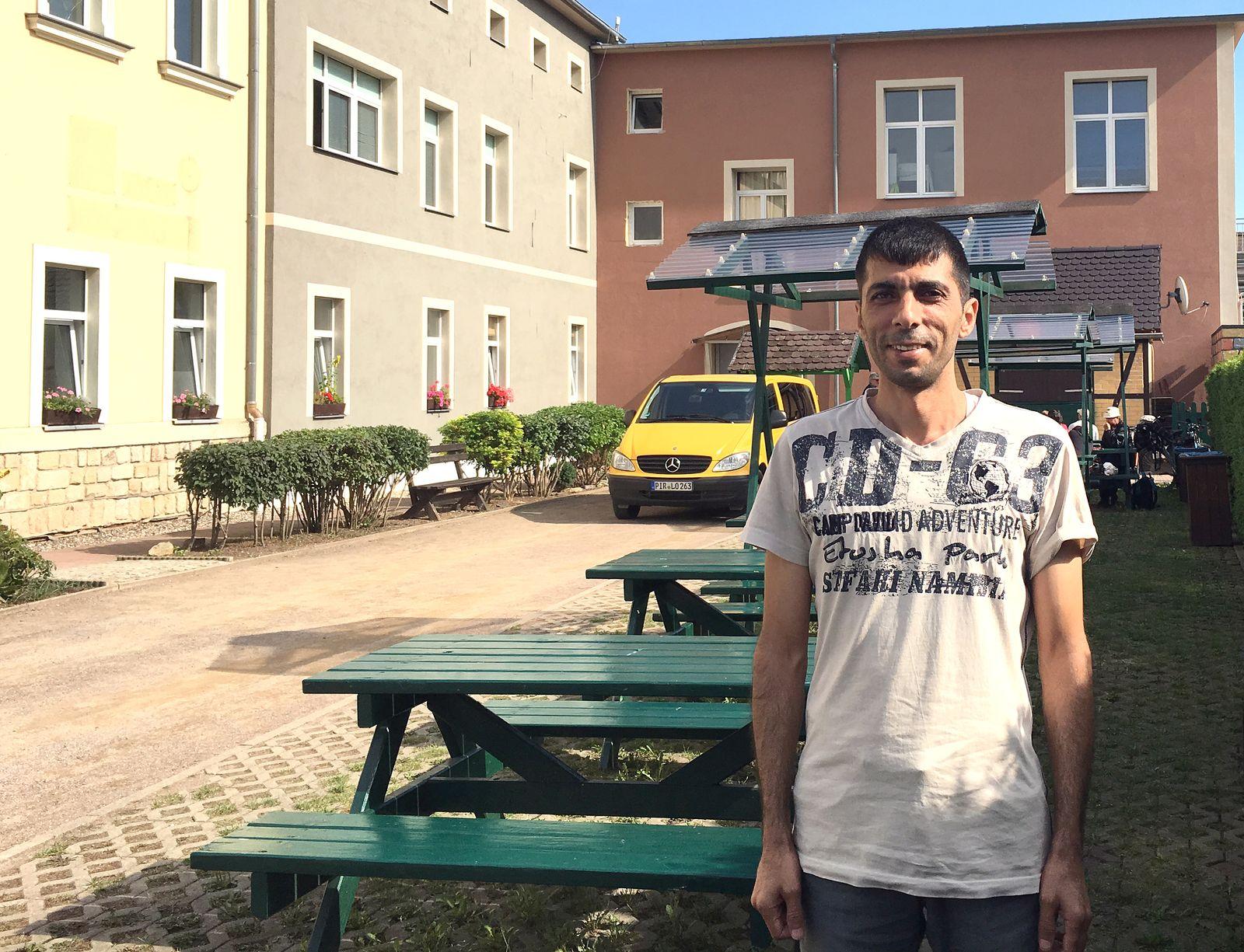 Flüchtlinge/ Sachsen