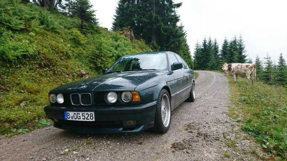 Oldtimer BMW 5er E34: Der letzte mit den Doppelrundscheinwerfern