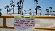 Strände gesperrt, Bars geschlossen - US-Bundesstaaten greifen durch