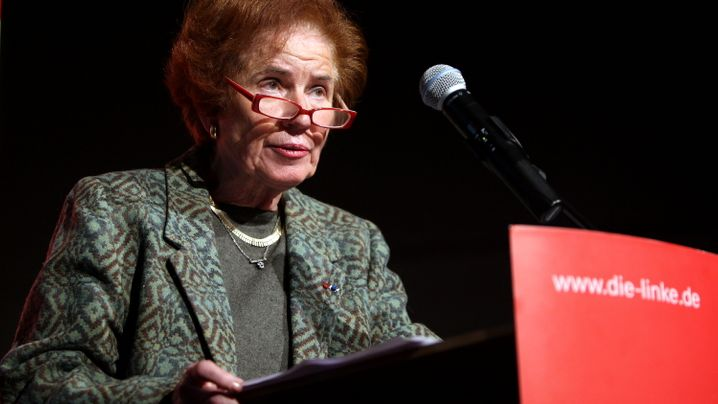 Beate Klarsfeld: Präsidentschaftskandidatin der Linken