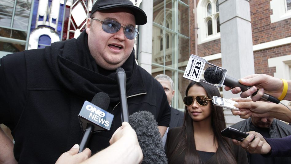 Kim Dotcom: Der Megaupload-Gründer wehrt sich gegen eine US-Klage