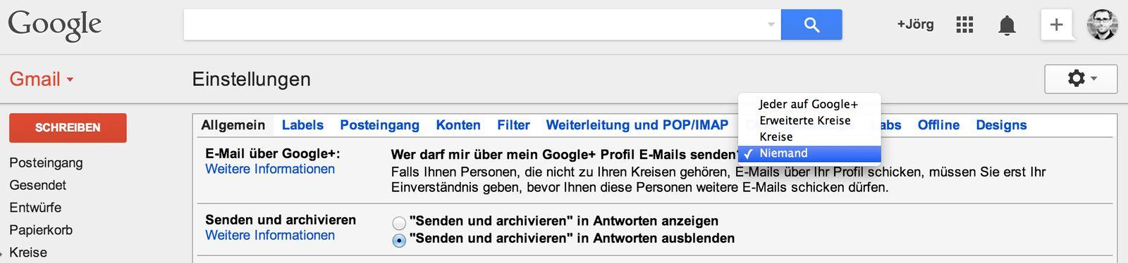 NUR ALS ZITAT Screenshot Netzwelt-Ticker Gmail