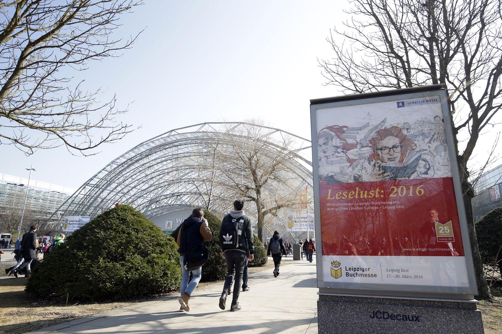 EINMALIGE VERWENDUNG Leipziger Buchmesse