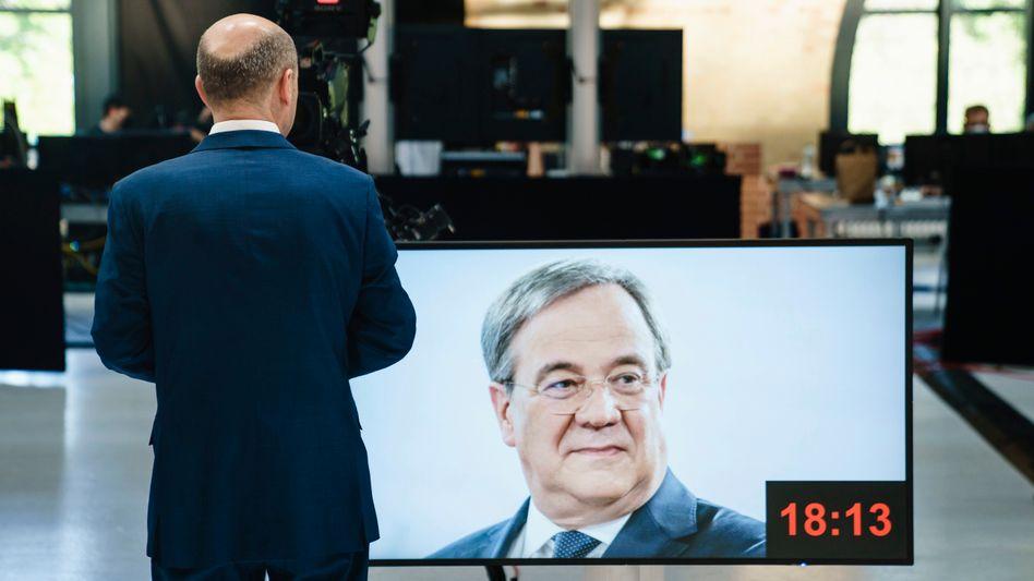 Kanzlerkandidaten Scholz, Laschet: »Gerne Teil einer künftigen Partnerschaft«