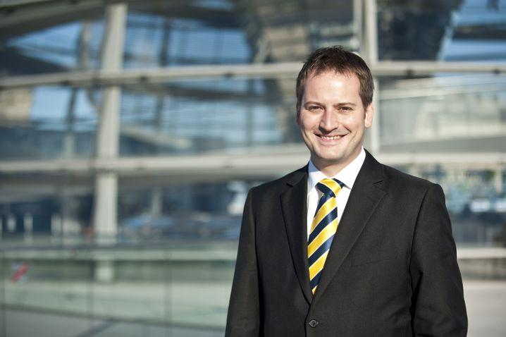 Manuel Hoeferlin, geboren 1973, sitzt erstmals im Bundestag. Er ist selbstständiger Unternehmer