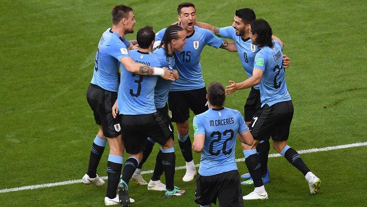 Uruguays Sieg gegen Russland: Aufwärmphase abgeschlossen