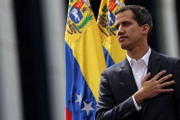 Juan Guaidó erklärt sich am 23. Januar in Caracas zum Übergangspräsidenten: jung und charismatisch, bescheiden und unbelastet
