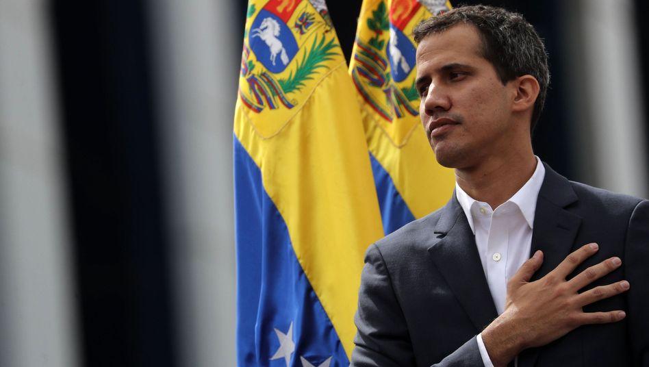 Venezuelas Parlamentspräsident Juan Guaido