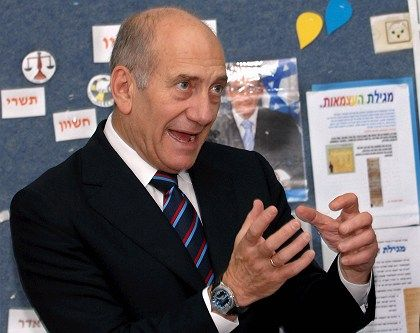 """Israeli Prime Minister Ehud Olmert: """"We have come very close to the end of our tolerance with regard to terror from Gaza."""""""