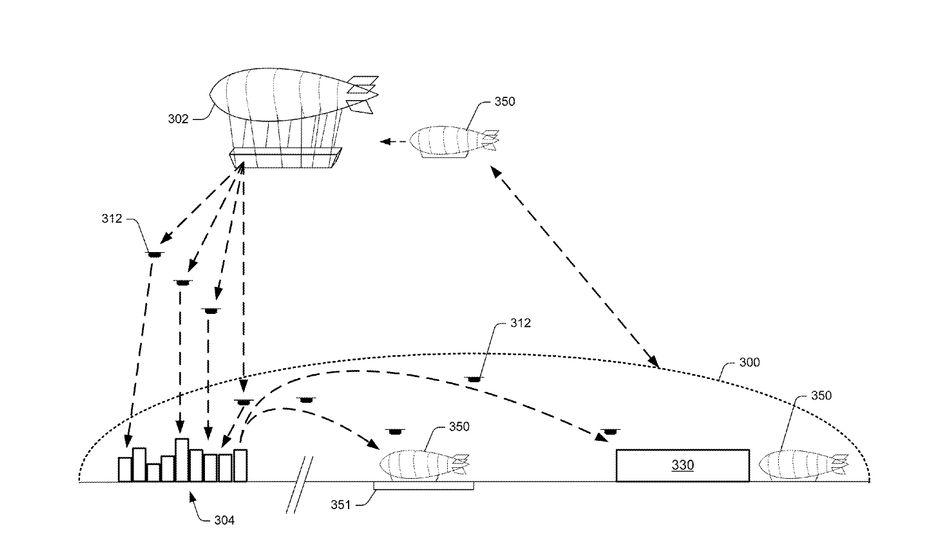 Zeichnung des Amazon-Konzepts