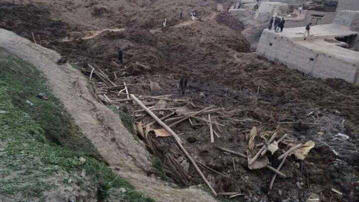 Nordosten Afghanistans: Tödliche Schlammlawine