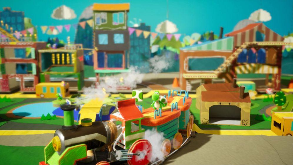"""Nintendo-Spiel: Das ist """"Yoshis Crafted World"""""""