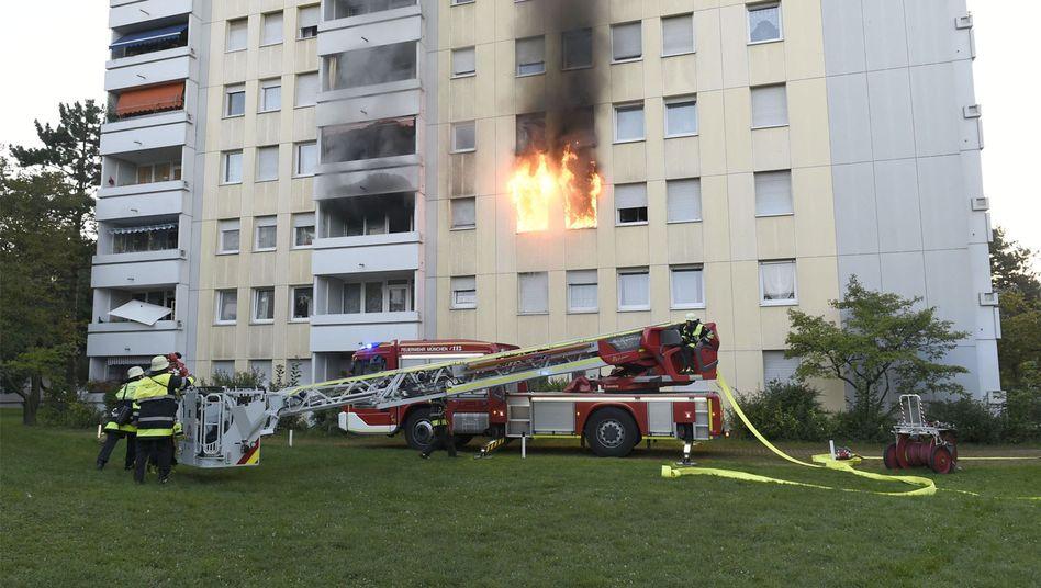 Feuerwehreinsatz in München