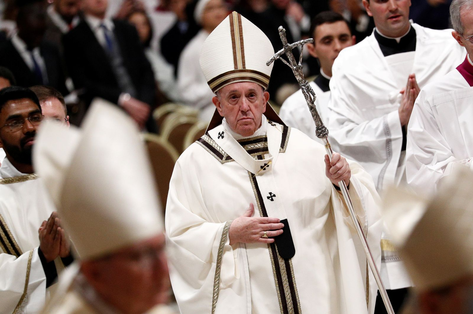 Papst Franziskus, Christmette