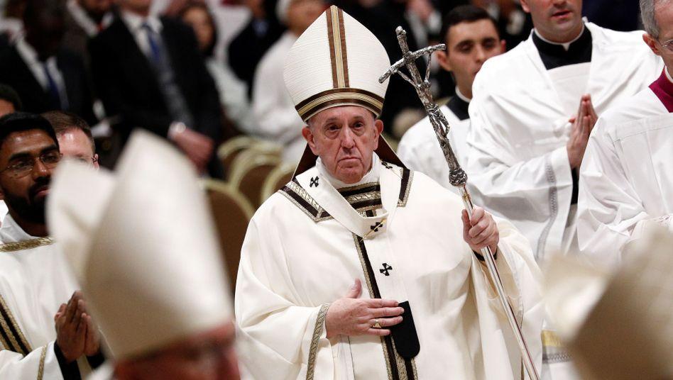 """Papst Franziskus: """"Weihnachten erinnert uns, dass Gott fortfährt, jeden Menschen zu lieben, auch den schlimmsten"""""""