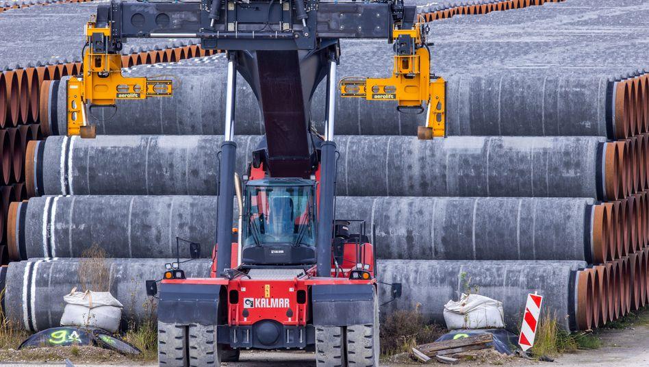Rohre für Nord Stream 2: Mittelbare Auswirkungen nicht auszuschließen