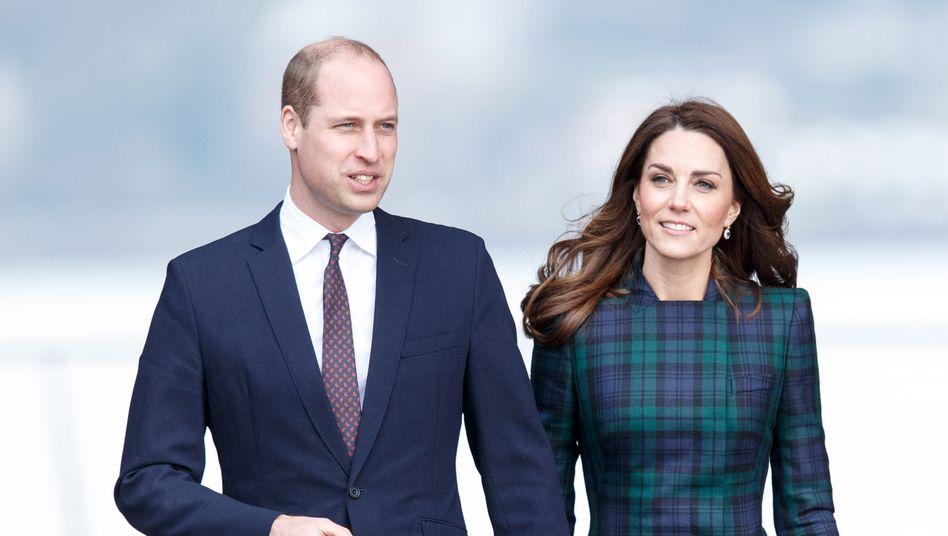 Prinz William und Herzogin Catherine (Archivbild): Ermutigung für Millionen