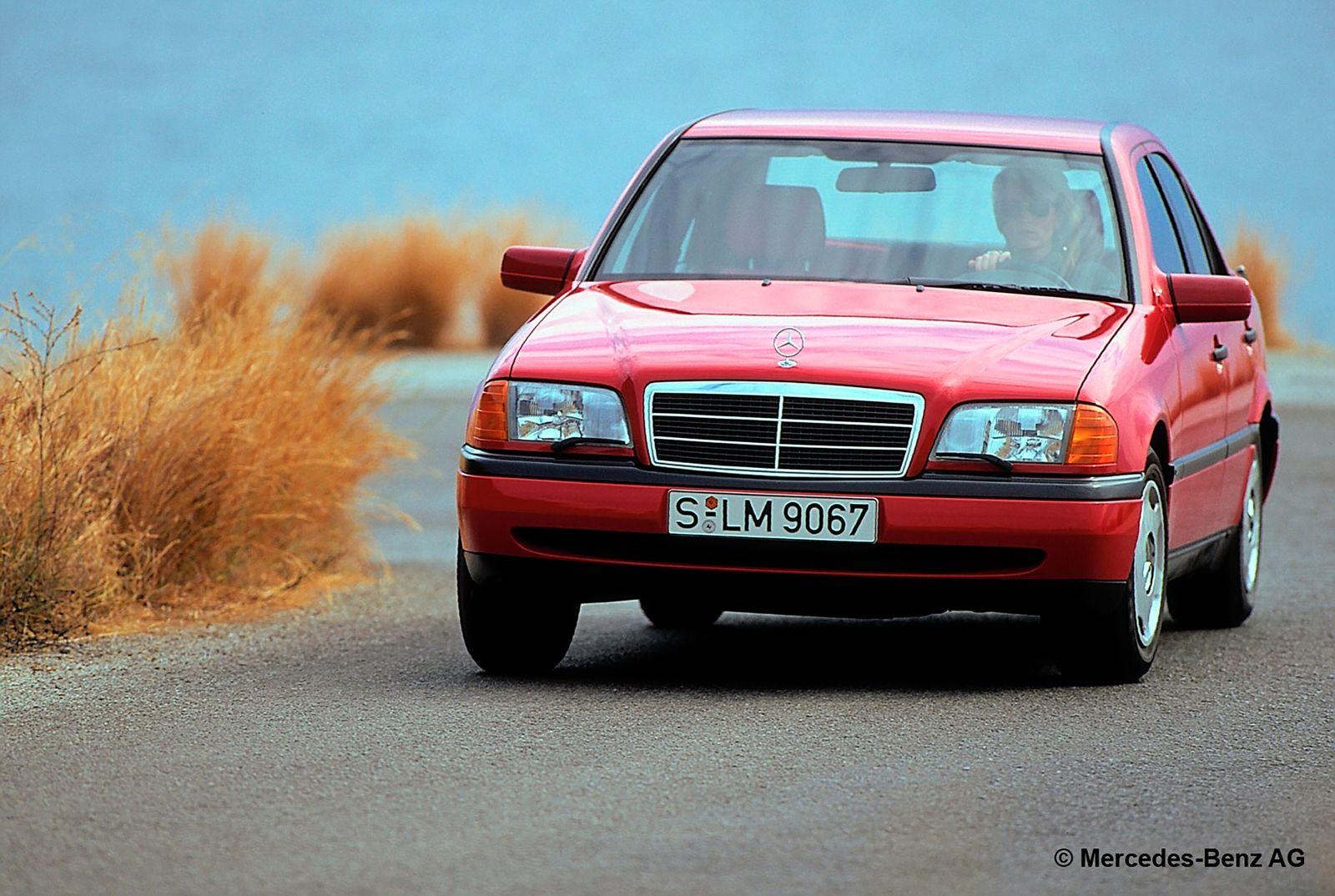 Mercedes-Benz C-Klasse-Limousine der Baureihe 202