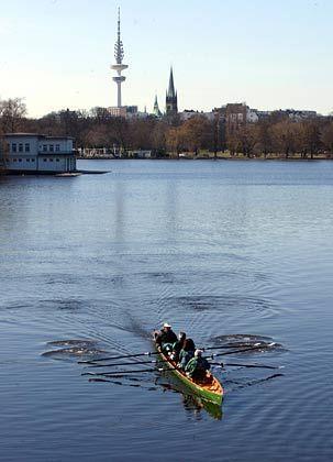 Hamburg: Insofern am schönsten, als am meisten Wasser