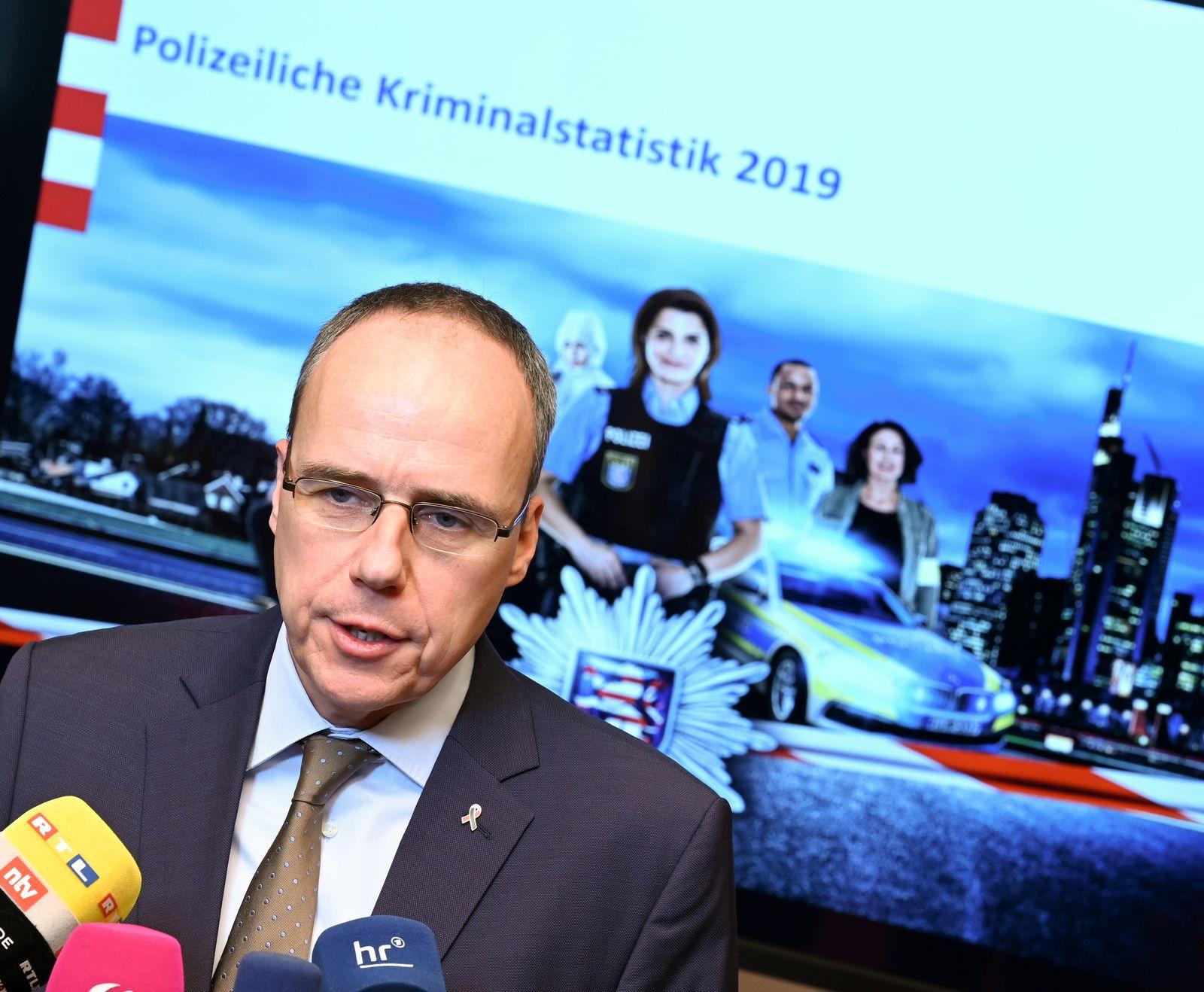 Pressekonferenz Polizeiliche Kriminalstatistik Hessen