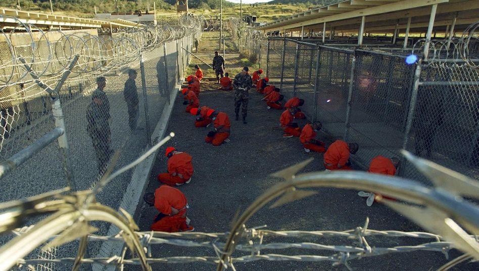 Gefangene in Guantanamo (Symbolbild): Protest gegen Haftbedingungen