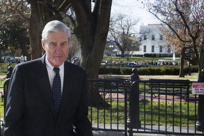 Robert Mueller, US-Sonderermittler, vor dem Weißen Haus