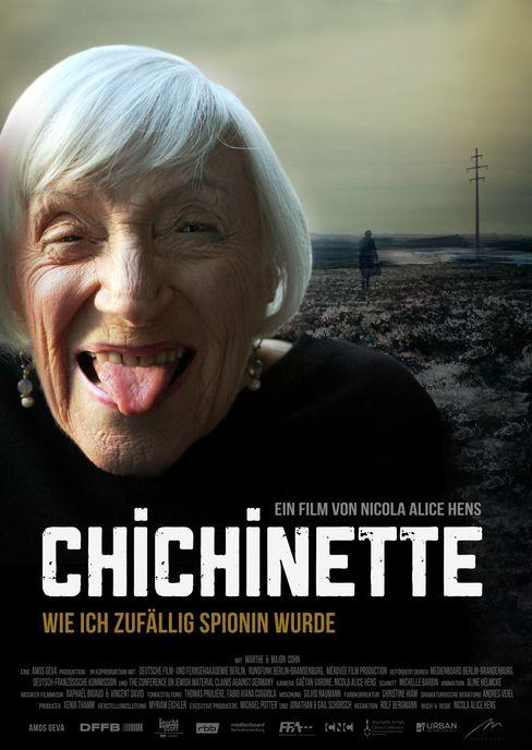Plakat zum Film über Marthe Cohn