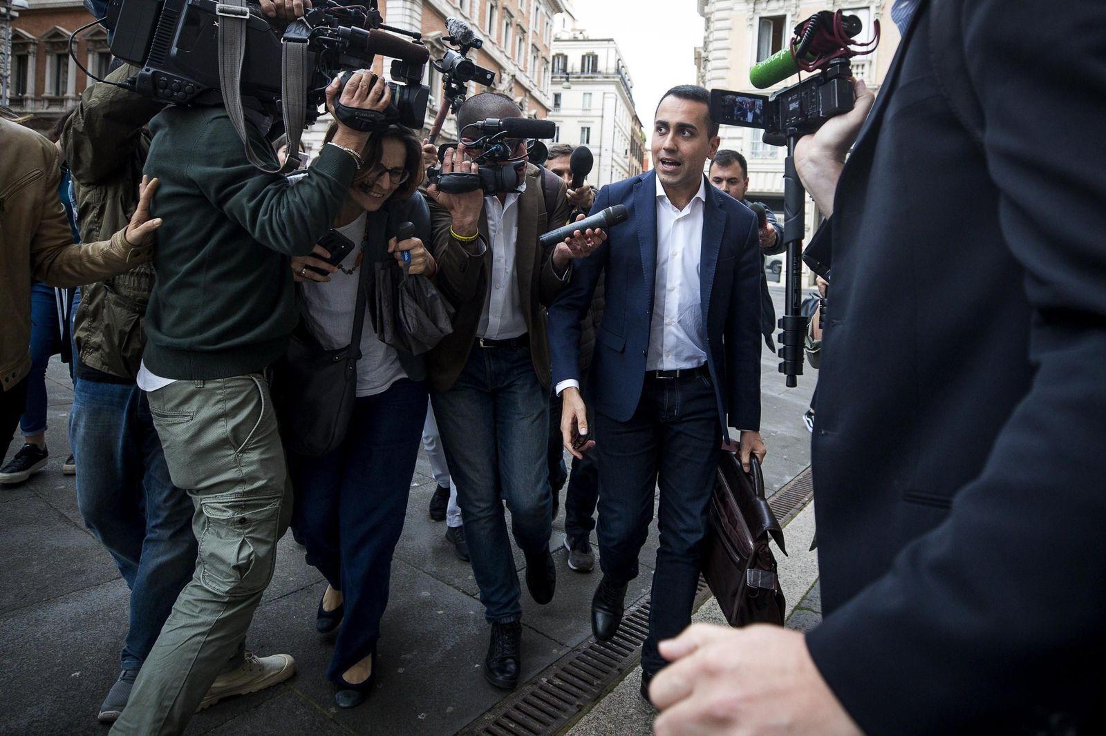 EINMALIGE VERWENDUNG SPIN SPIEGEL 22/2018 S.78 Italien Populisten