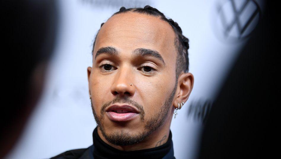 """Lewis Hamilton: """"Ich sehe diejenigen, die still bleiben"""" (Archivbild)"""